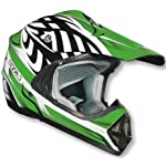 Vega Viper Kraze Graphic Off-Road Helmet (Green, X-Large)