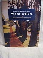 American Twentieth-Century Watercolors at…