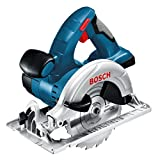 Bosch GKS 18 V-LI Professional Cordless Circular Saw 18 V (baretool: supplied without battery/without charger, L-BOXX)