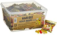Haribo Gold-Bears Minis, 72-Count from Haribo