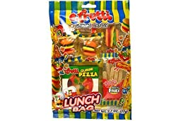 e.frutti Lunch Bag Gummi Candy, 2.7-Ounce Bags (Pack of 12)