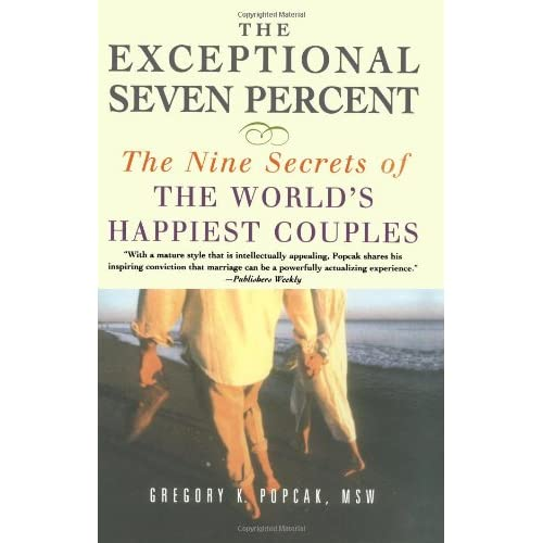 If roughly 50 percent of marriages fail, what about the other 50 percent? Are those couples who stay together necessarily happy? No. In fact, many marriages that remain intact are miserable, some are just mediocre, and some are only pretty good. A mere 7 percent are really great--in fact, except...