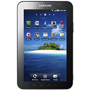 Samsung Galaxy Tab (17,8 cm (7 Zoll) Touchscreen, Android 2.2, WLAN, HSDPA, Videotelefonie) Tablet