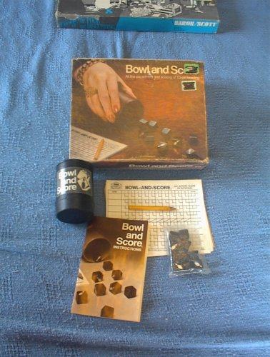 Bowl and Score, Bowling with DIce Game - 1