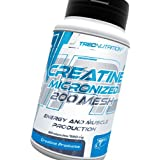 Energy and muscle production - Creatine 60caps -100% Micronized Monohydrate Creatine 200 Mesh