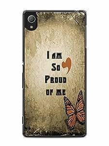 YuBingo I am so Proud of Me Designer Mobile Case Back Cover for Sony Xperia Z4