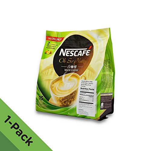 Nescafé Ipoh White Coffee HAZELNUT (15 Sachets) -