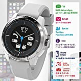 ◇COOKOO-2 cookoo2 connected watch Bluetooth 4.0 スマートウォッチ コネクテッド ウォッチ 多機能時計 スマホ連動 iPhone6 アナログ 腕時計 【並行輸入品】 (ブラック)