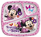 Zak Minnie Mouse 3 Section Tray