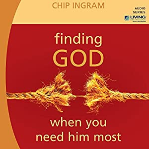 Finding God When You Need Him Most Lecture