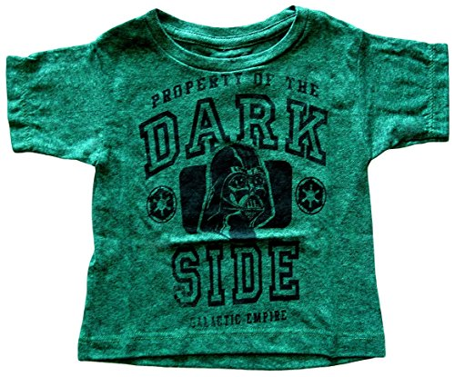 Mad Engine Little Boys' Star Wars Darth Vader Property of the Dark Side T-shirt