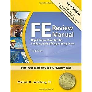 michael r lindeburg fe review manual