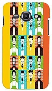 PrintVisa Pattern Faces Man Case Cover for Samsung Galaxy Core I8260