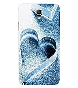 ColourCraft Lovely Hearts Design Back Case Cover for SAMSUNG GALAXY NOTE 3 NEO N7505