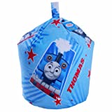 Thomas The Tank Engine Race Kids Blue Cotton Seat Chair Bean Bag with Filling