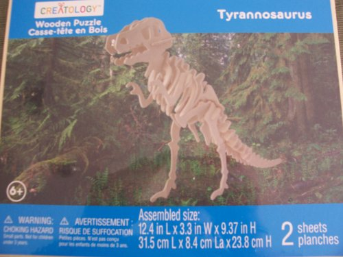 Cheap Michaels Creatology Wooden Puzzle  Tyrannosaurus (B004UWS9E8)