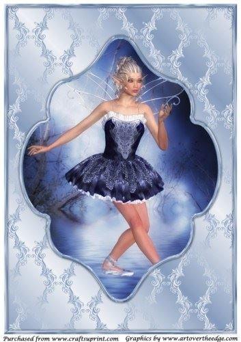 Fata Ballerina, formato A4, con 1 Apetroae Stefan