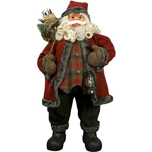 weihnachtsmann 80cm deko nikolaus santa clause figur gro weihnachts deko holz. Black Bedroom Furniture Sets. Home Design Ideas