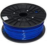 justpla - Dark Blue 1.75mm PLA Filament for 3D Printers (1kg/2.2lbs)