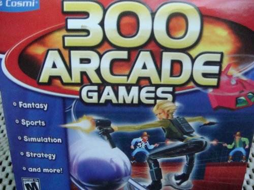 Multiple Arcade Games !! 300 Games ..Fantasy, Sports, Simulation,Strategy, Space Etc.. {Windows 2000 Or Higher Xp Compatible}