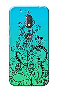 Moto G4 Play 3D Back Cover KanvasCases Premium Quality Designer Printed 3D Lightweight Slim Matte Finish Hard Case Back Cover for Moto G Play, 4th Gen + Free Mobile Viewing Stand