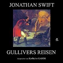 Gullivers Reisen Hörbuch von Jonathan Swift Gesprochen von: Karlheinz Gabor