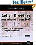 Active Directory : Sous Windows Serve...