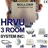HRVU 3 ROOM FULL SYSTEM HEAT RECOVERY VENTILATION KIT CONDENSATION MHRV DHV-08M