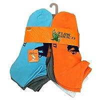 Ankle socks, Basic pack of 6 pairs. Size Medium Fits Men Shoe 4-8.5