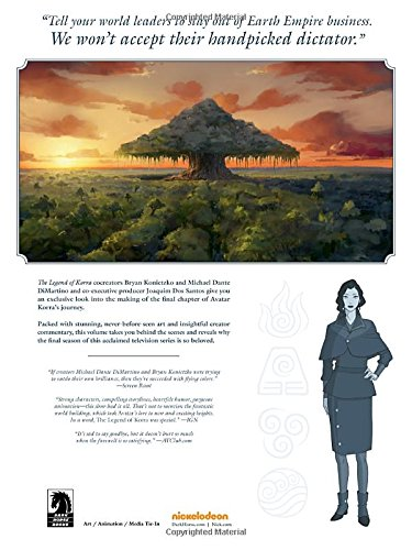 Legend Korra Art Animated Series HC 4 Balance (Avatar: The Last Airbender)
