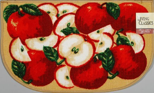 Apple Themed Kitchen Rugs