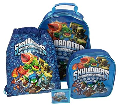 Trademark Collections Skylander Luggage Set by Trademark Collections