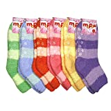 51dfIQa9xCL. SL160  HS Winter Fuzzy Socks Big Stripe Line Design (size 9 11) 6 Colors 6 Pairs