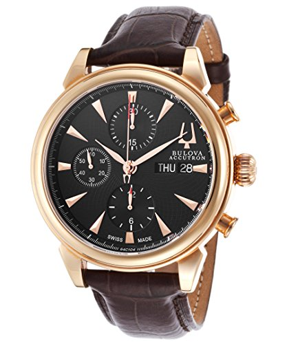 Bulova Accutron Gemini Men's Automatic Watch 64C104