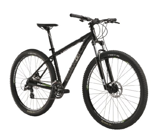 Diamondback Response Mountain Bike with 29-Inch Wheels, Black, 20-Inch/Large