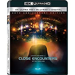 Close Encounters Of The Third Kind [4K Ultra HD + Blu-ray]