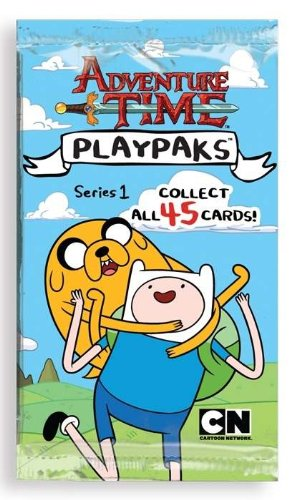 Adventure Time Playpaks Series 1 Collectible Trading Cards (1 Pack) - 1