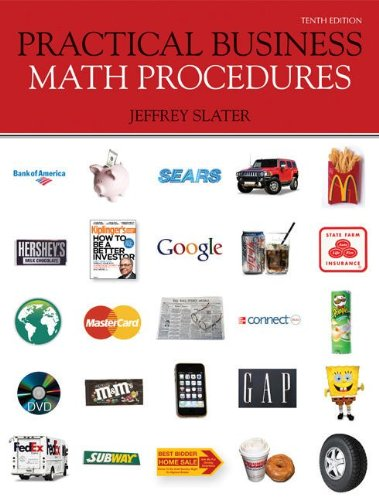 Practical Business Math Procedures with Business Math...