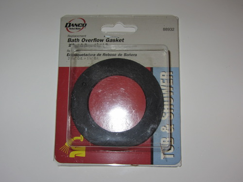 bath overflow gasket bathtub drains