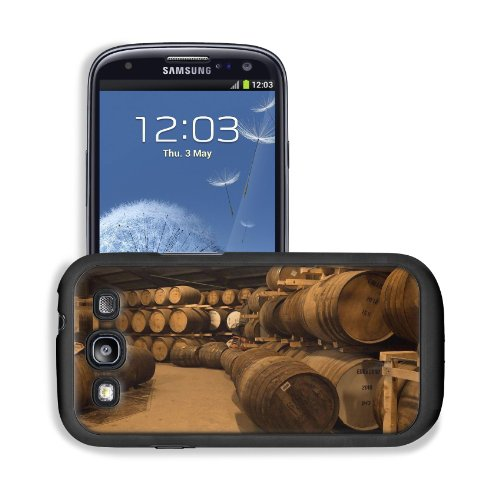 Wooden Wine Barrels Cellar Basement Samsung I9300 Galaxy S3 Snap Cover Premium Leather Design Back Plate Case Customized Made To Order Support Ready 5 3/8 Inch (136Mm) X 2 7/8 Inch (73Mm) X 7/16 Inch (11Mm) Msd Galaxy_S3 Professional Cases Touch Accessori front-592494