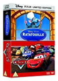 Ratatouille and Cars Pixar Pop-up Pack (2 Discs) [DVD]