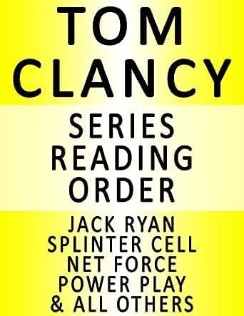 Tom clancy series reading order series list in order jack ryan