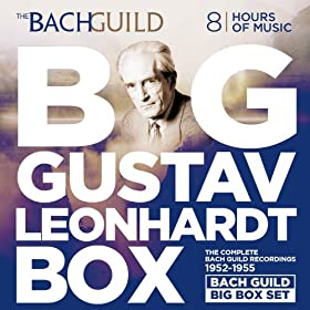 Big Gustav Leonhardt Box The Bach Guild Recordings 1952-1955