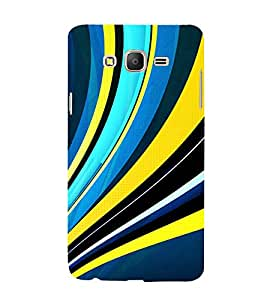 99Sublimation Modern Art Design Pattern Stripe 3D Hard Polycarbonate Back Case Cover for Samsung Galaxy On5 :: Pro