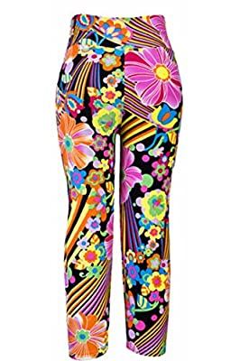COCOLEGGINGS Womens Slimming Active Workout Capri Leggings Fitted Stretch Tights