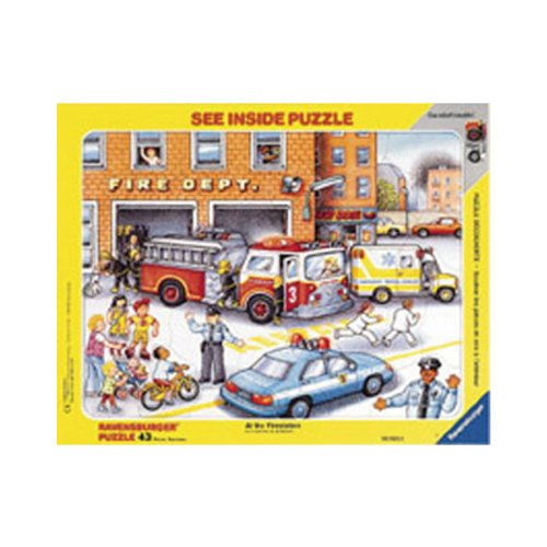 Cheap Ravensburger – F.X. Schmid See Inside, Fire Station, 43 Pcs (B000FEJM0U)