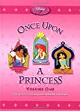 Disney Princess: Once Upon a Princess - Volume One: Three Princess Stories in One Beautiful Storybook (Disney Princess (Random House Hardcover))