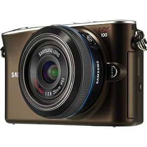 Samsung EV-NX100 14.6 MP Digital Camera with 20-55mm Zoom Lens