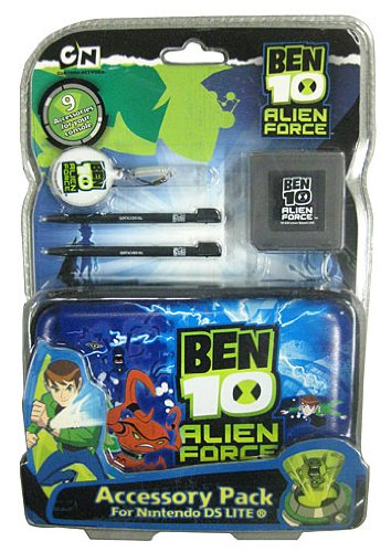 Ben10 Licenced DS/DS Lite/DSi Alien Force 9-in-1 pack (Nintendo DS)