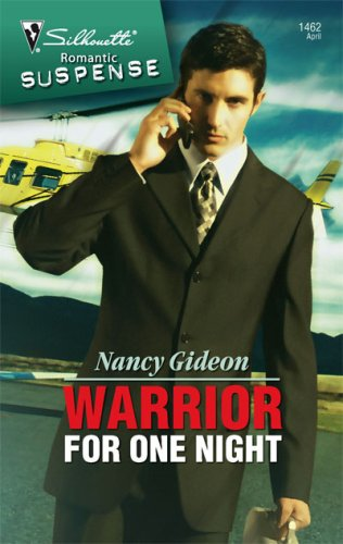 Image of Warrior For One Night (Silhouette Romantic Suspense)